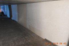 Wykonanie hydroizolacji zewn. i wewn. ścian zbiornika P-POŻ